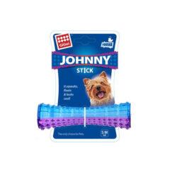GIGwi Johnny Stick Small Squeaker morado-azul transparente-