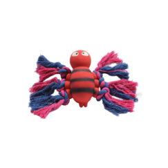 Mascan Animal Latex con Cuerda Rojo