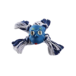 Mascan Animal Latex con Cuerda Azul
